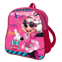 Mochila Guarderia 24 cm Minnie Mouse