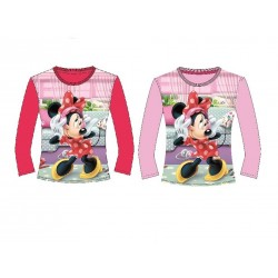 Camiseta Manga Larga Minnie Mouse