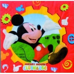 Servilletas Papel Mickey Mouse