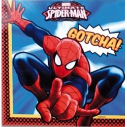 Servilletas Papel Spiderman