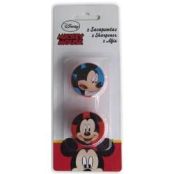 2 Sacapuntas Plástico Mickey Mouse