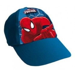 Gorra Simple Print Spiderman Azul