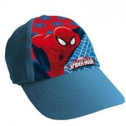 Gorra Simple Print Spiderman Azul Claro