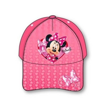 Gorra Full Print Minnie Mouse Rosa Lazo e79fb36b9a9