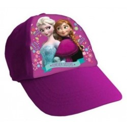 Gorra Simple Print Frozen Rosa