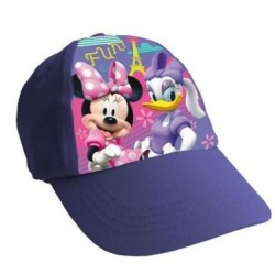 Gorra Simple Print Minnie Mouse Lila