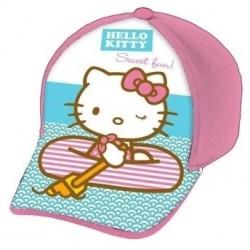 Gorra Full Print Hello Kitty Rosa Playa