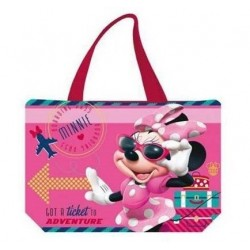 Bolso Playa Minnie Mouse Rosa