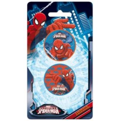 2 Sacapuntas Spiderman