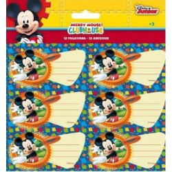 16 Pegatinas Mickey Mouse