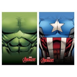 Manta Polar Hulk & Capitán América