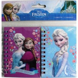 Set 2 Libretas Frozen