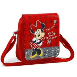 Bandolera Minnie Mouse Roja