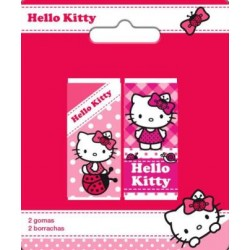 2 Gomas De Borrar Hello Kitty