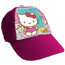Gorra Simple Print Hello Kitty Rosa