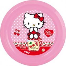 Plato Llano Hello Kitty