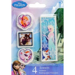 Set 4 Gomas Frozen