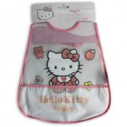 Babero Hello Kitty Con Bolsillo
