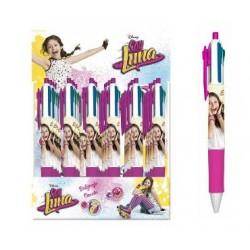 Bolígrafo 4 Colores Soy Luna