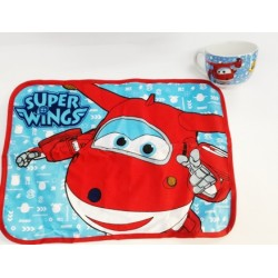 Mantel Y Taza Super Wings