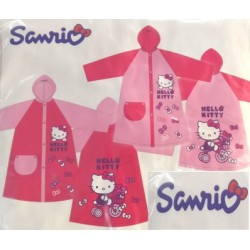 Impermeable Hello Kitty