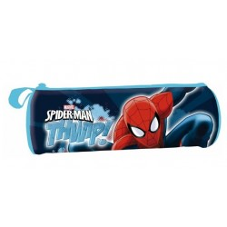 Estuche Spiderman Cilíndrico Marvel