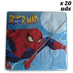 Servilletas  Spiderman Papel