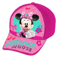 Gorra Full Print Minnie Mouse Rosa