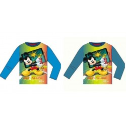 Camiseta Manga Larga Mickey Mouse