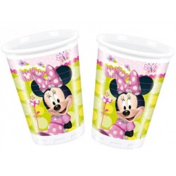 Vaso Plástico Minnie Mouse Desechable