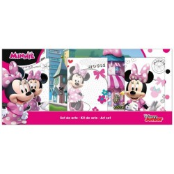 Set 3 Lienzos Minnie Mouse