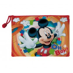 Neceser Mickey Mouse Doble Impermeable