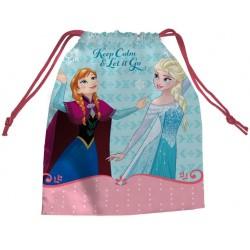 Saquito Merienda Frozen Elsa Y Anna