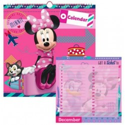 Calendario Minnie Mouse Genérico