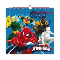 Calendario Spiderman Genérico