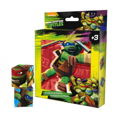 Puzzle 16 Piezas Tortugas Ninja