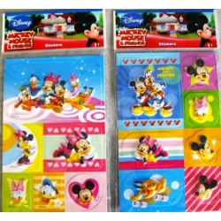 Pegatinas Mickey Mouse 3D