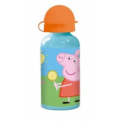 Botella Peppa Pig Aluminio 400 ml