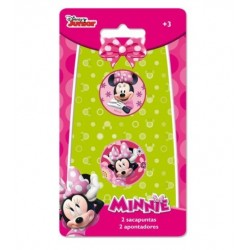 Set 2 Sacapuntas Minnie Mouse
