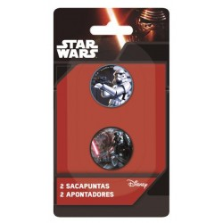 Set 2 Sacapuntas Star Wars