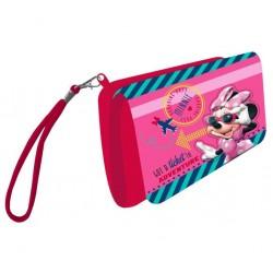 Monedero Minnie Mouse Con Cinta