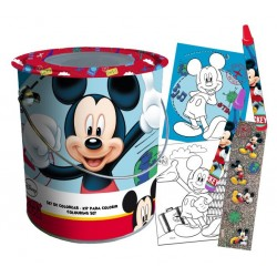 Set De Colorear Mickey Mouse