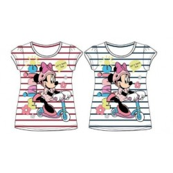Camiseta Minnie Mouse Manga Corta