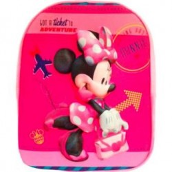 Mochila Minnie Mouse 3D Soft