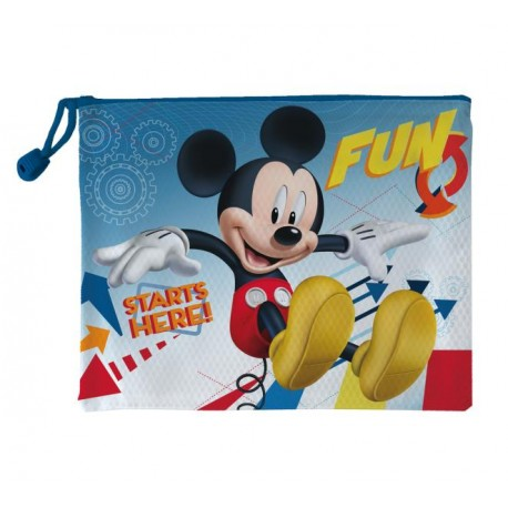 Neceser Mickey Mouse Plástico Pequeño