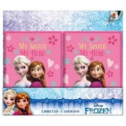 Libreta Frozen