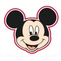 Toalla Forma Mickey Mouse Poliéster