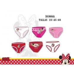 Set 3 Braguitas Minnie Mouse
