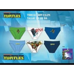 Set 3 Slips Tortugas Ninja