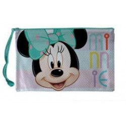 Neceser Minnie Lazo Verde Impermeable